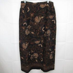 Elegant Skirt Elastic Waist Size XL by Elementz